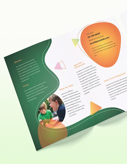 Preschool BiFold Brochure Download
