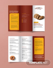 Product Tri-Fold Brochure Template