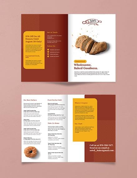 Product Bi-Fold Brochure Template