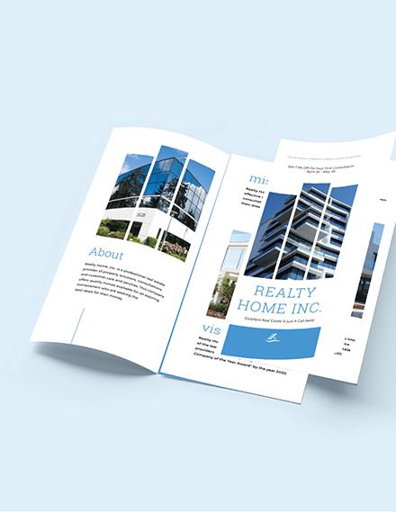 Realtor TriFold Brochure Download