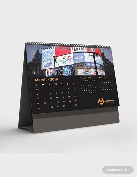 Advertising agency Desk Calendar Download