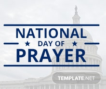Free National Day of Prayer Email Newsletter Template