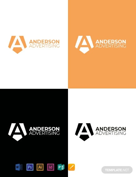 Advertising agency logo Design Template