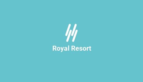 Royal Resort Business Card Template