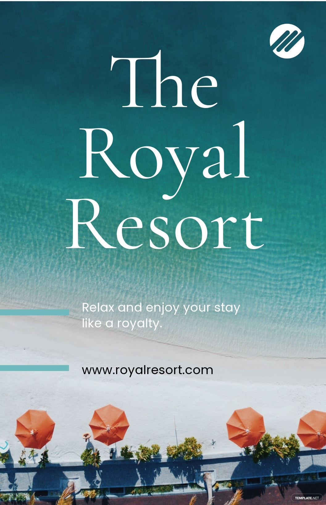Royal Resort Poster Template.jpe