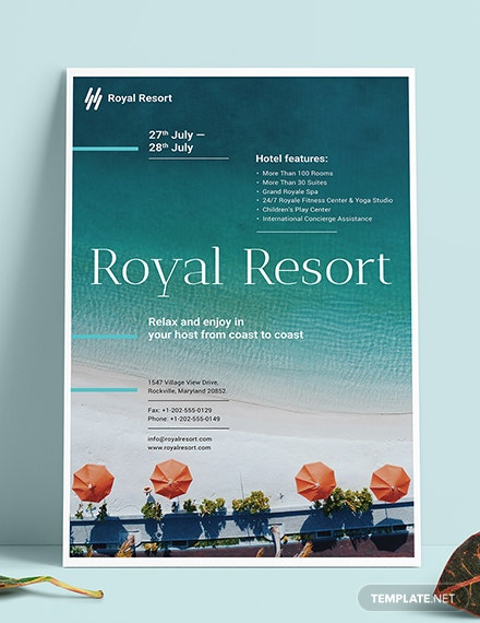 Sample Royal Resort Poster