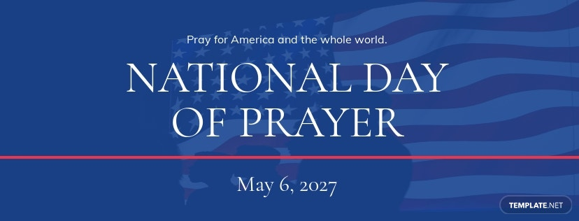 National Day of Prayer Facebook App Cover Template