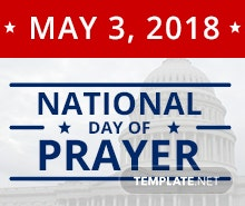 Free National Day of Prayer Facebook App Cover Template