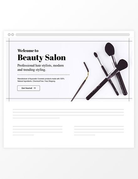 Beauty Care Blog Header Sample