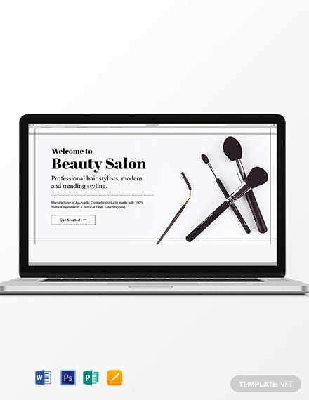Beauty Care Blog Header Template