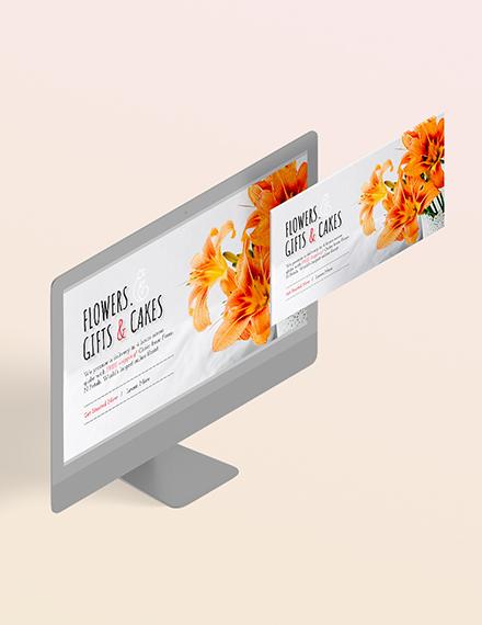 Florist Blog Header Download