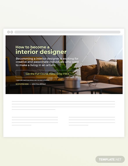 Sample Interior Blog Designer
