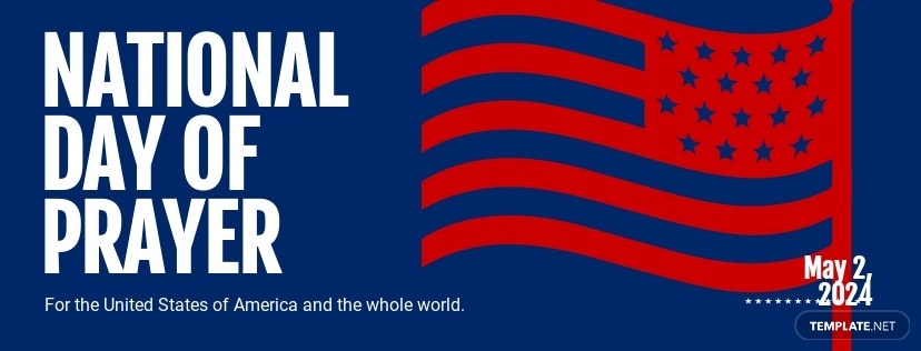 National Day of Prayer Facebook Cover Template