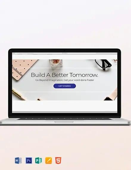 Personal Blog Header