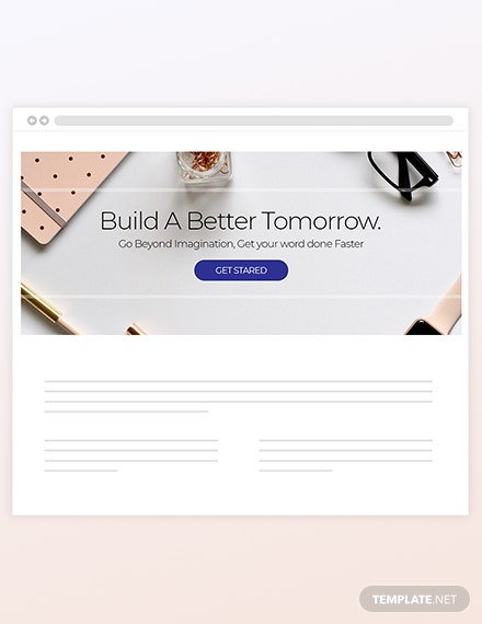 Sample Personal Blog Header