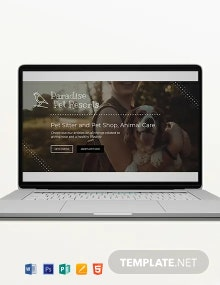 Pets Blog Header Template
