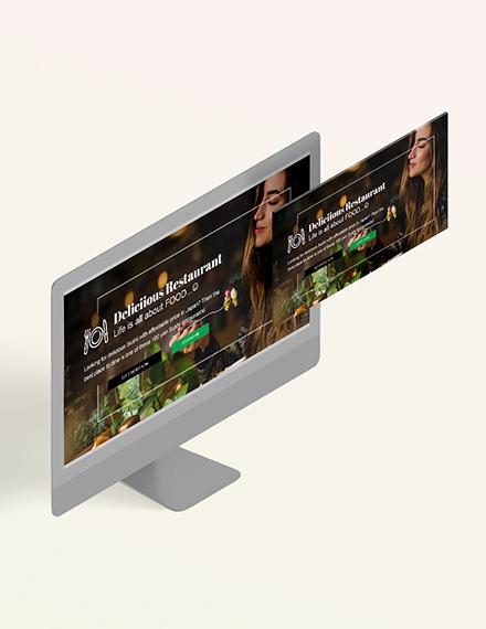 Restaurant Blog Header Download