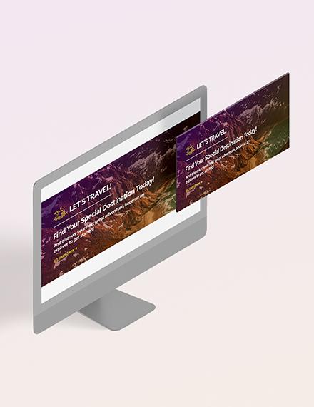 Travel Blog Header Download