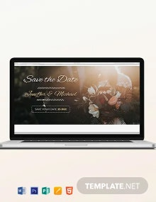 Wedding Blog Header Template