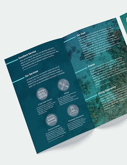 Royal Resort Bi Fold Brochure Download