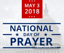 Free National Day of Prayer Facebook Post Template
