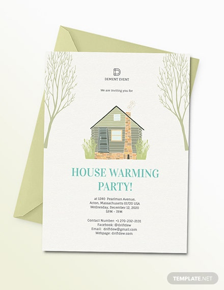 Housewarming Party Invitation Download