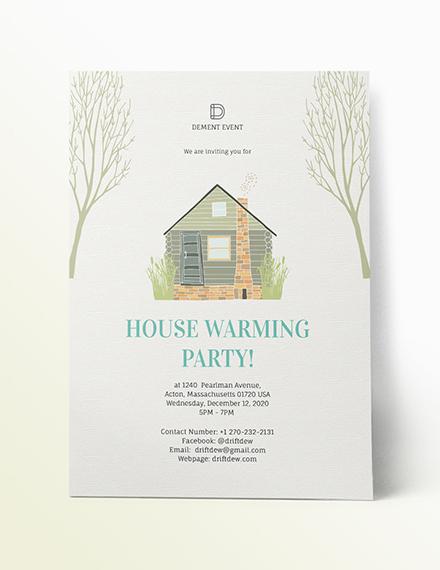 Sample Housewarming Party Invitation