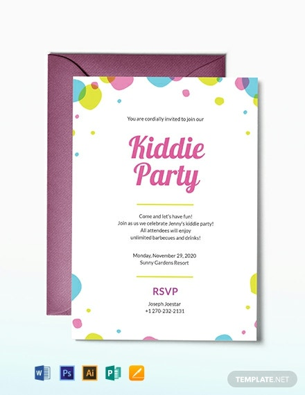 kids party invitation template 440x570 1