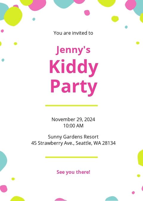 Kids Party Invitation Template.jpe