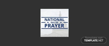 Free National Day of Prayer Facebook Profile Photo Template