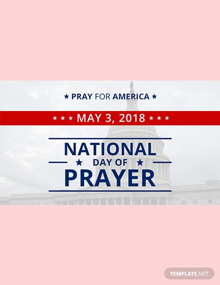 Free National Day of Prayer Google Plus Cover