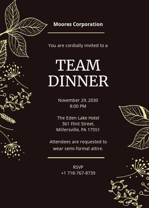 Team Dinner Invitation Template.jpe