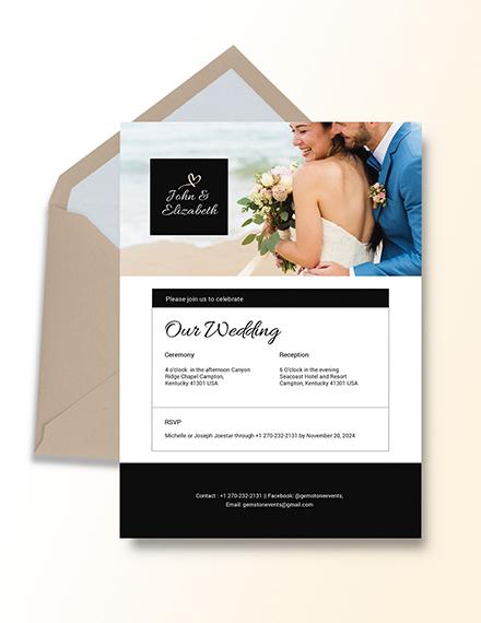 Wedding Invitation Email Download