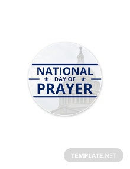 Free National Day of Prayer Google Plus Header Photo Template