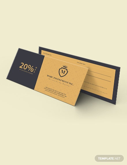 Business Discount Coupon Download