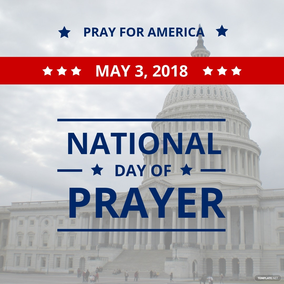 National Day of Prayer Instagram Post Template