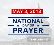 Free National Day of Prayer Instagram Profile Photo Template