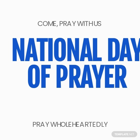 National Day of Prayer Instagram Profile Photo Template.jpe