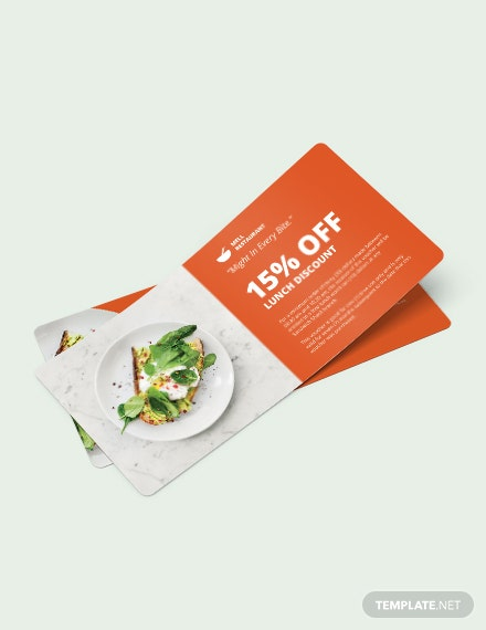 Lunch Discount Voucher Download