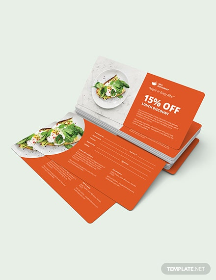 Sample Lunch Discount Voucher
