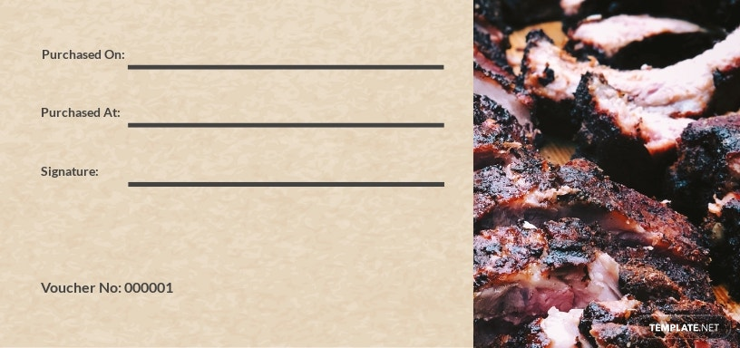 Restaurant Discount Voucher Template [Free JPG] - Illustrator, Word, Apple Pages, PSD, Publisher