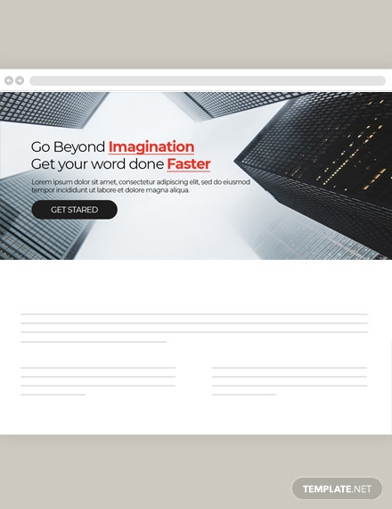 Free Construction Website Header