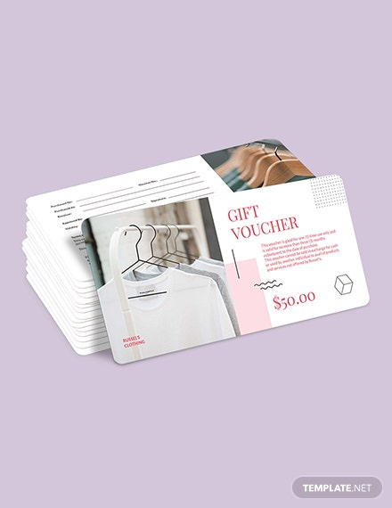 Sample Simple Thank You Voucher