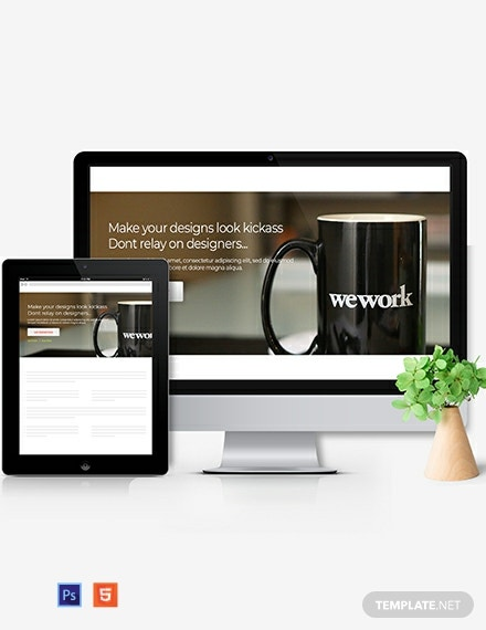Web Design Agency Header Template