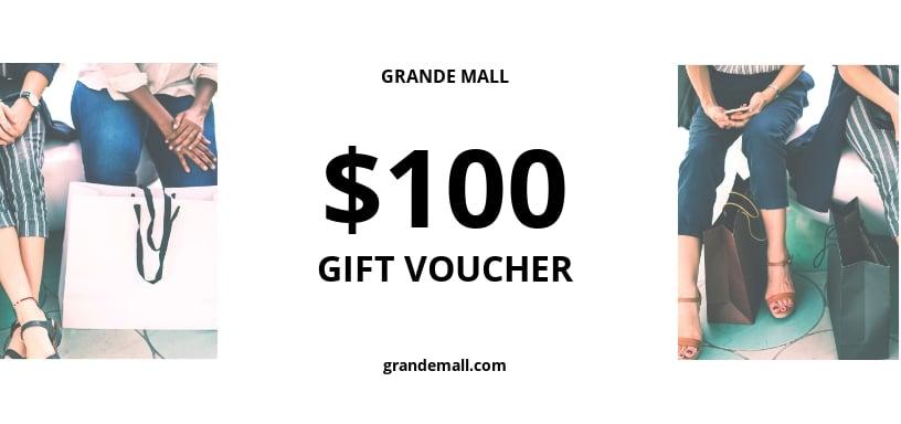 Thank You Gift Voucher Template