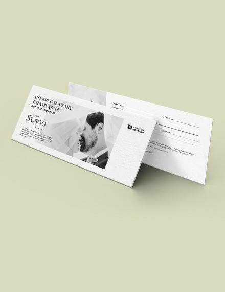 Wedding Gift Voucher Download
