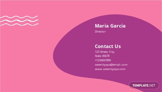 Spa Business Card Template 1.jpe