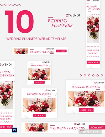 Wedding Planners Web Ad Template