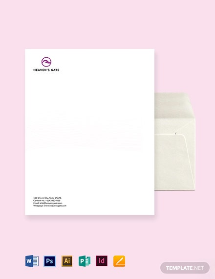 Massage Envelope Template
