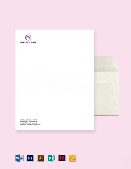 Massage Envelope Template